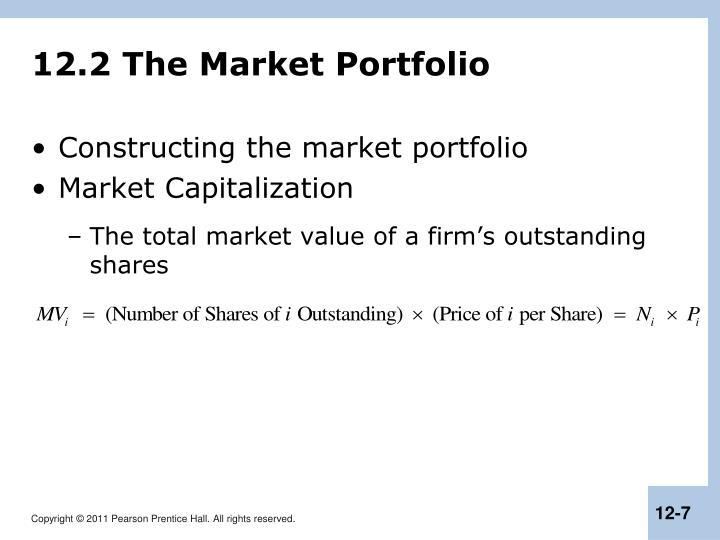 12.2 The Market Portfolio
