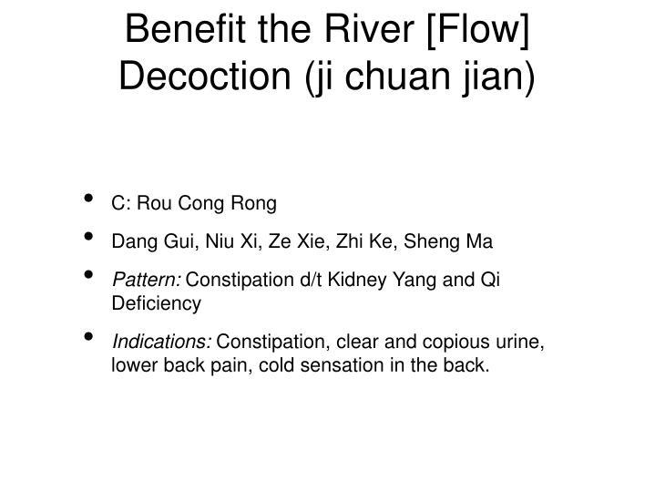 Benefit the River [Flow] Decoction (ji chuan jian)