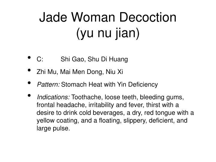 Jade Woman Decoction