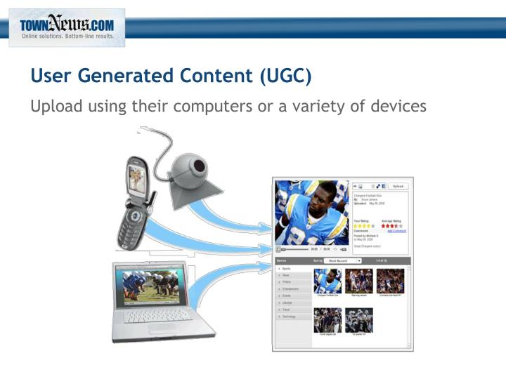 User Generated Content (UGC)