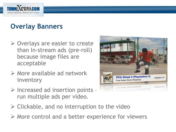 Overlay Banners