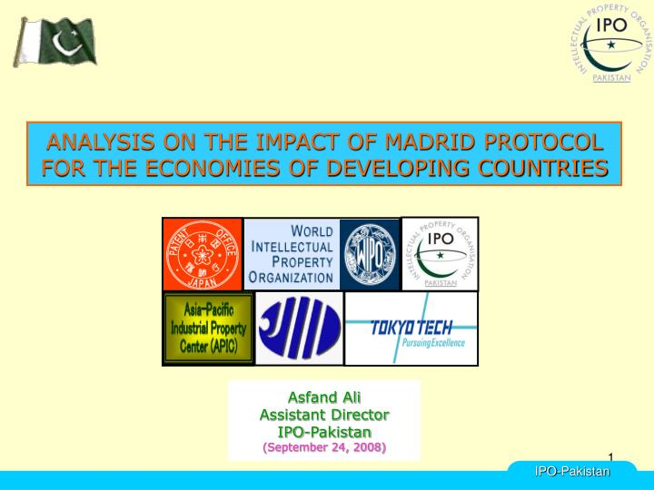 Analysis on the impact of madrid protocol for the economies of developing countries