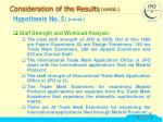consideration of the results contd34