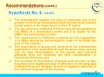 recommendations contd3