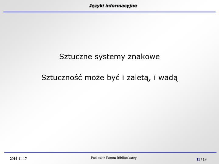 Języki informacyjne