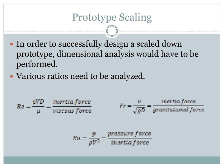 Prototype Scaling