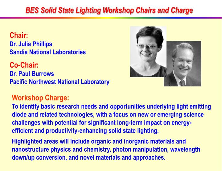 BES Solid State Lighting Workshop