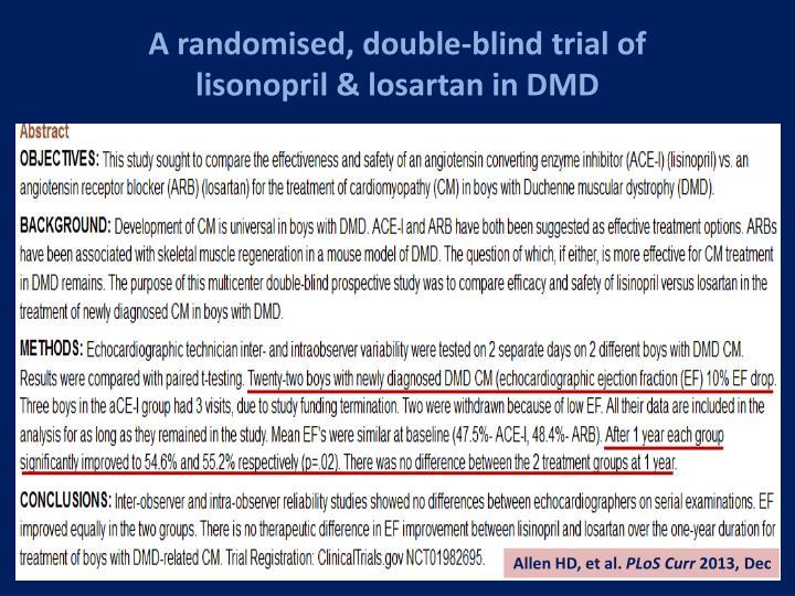 A randomised, double-blind trial of