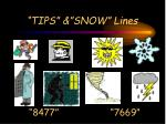 tips snow lines