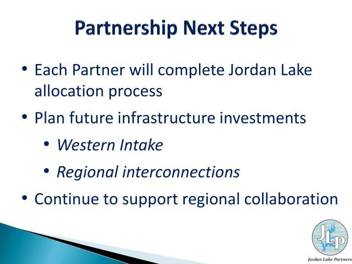 Partnership Next Steps