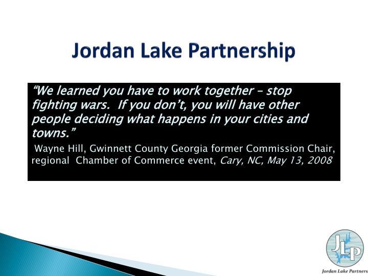 Jordan Lake Partnership