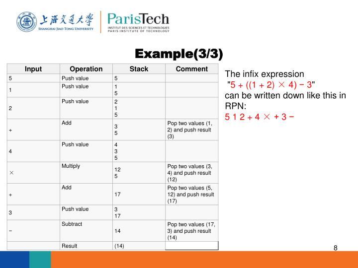 Example(3/3)