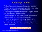 status flags review