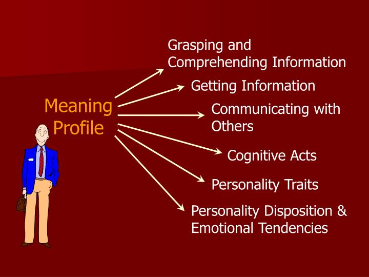 Grasping and Comprehending Information