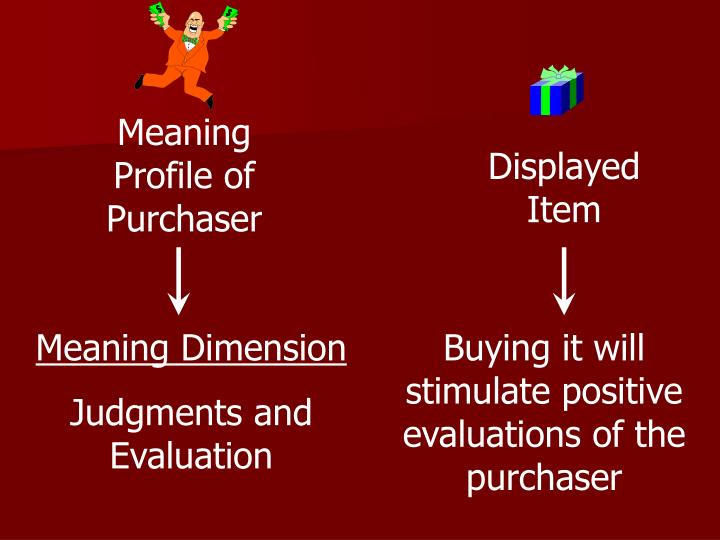 Meaning Profile of Purchaser