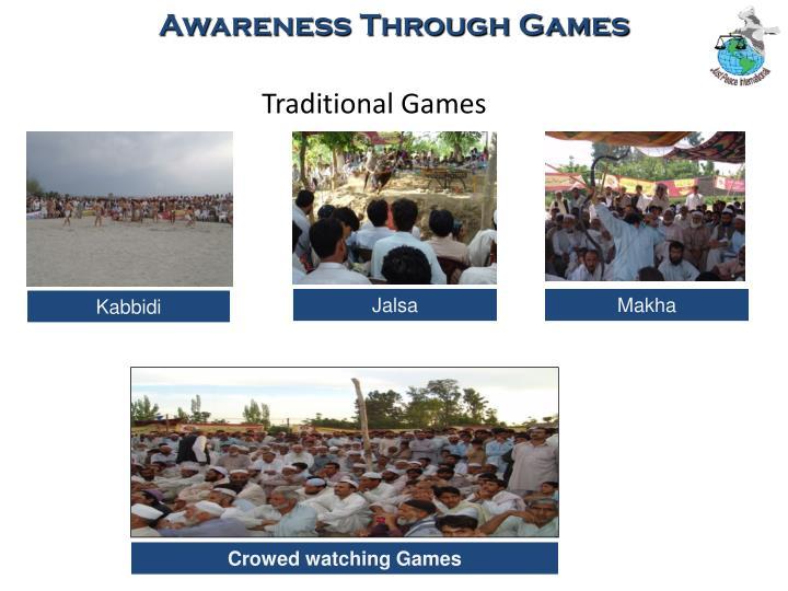 Awareness Through Games