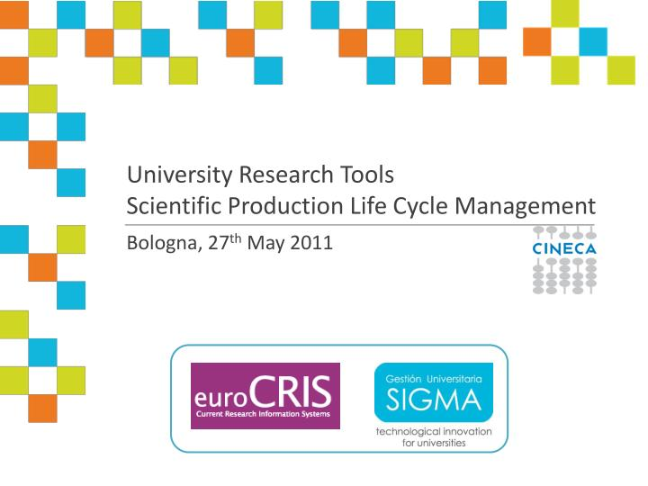 University Research Tools