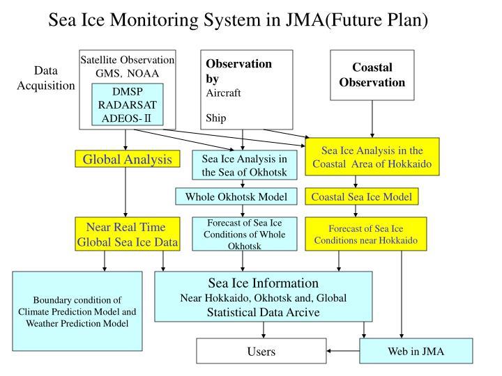 Sea Ice Monitoring System in JMA(Future Plan)