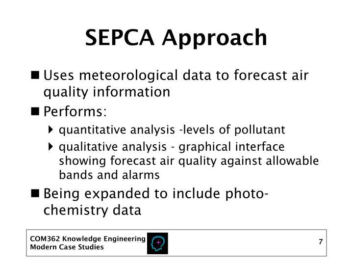 SEPCA Approach