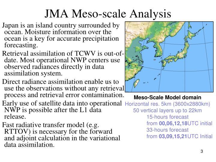 JMA Meso-scale Analysis