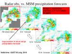 radar obs vs msm precipitation forecasts1