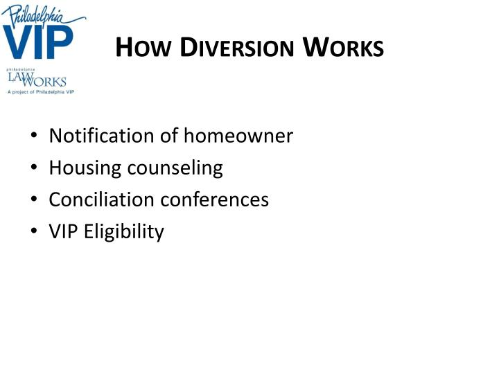 How Diversion Works