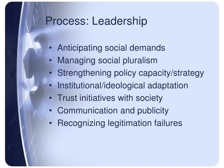 Process: Leadership