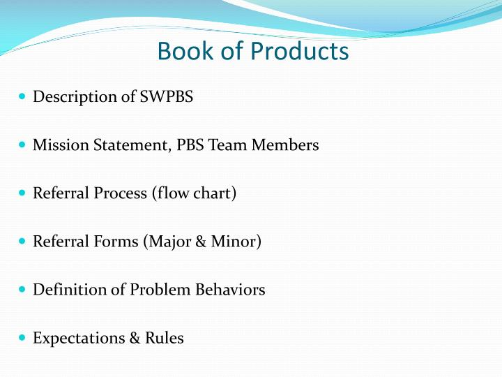 Book of Products
