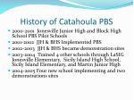 history of catahoula pbs