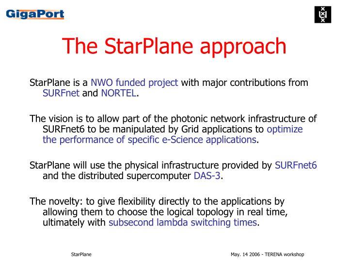 The StarPlane approach