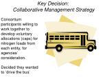 key decision collaborative management strategy