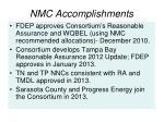 nmc accomplishments