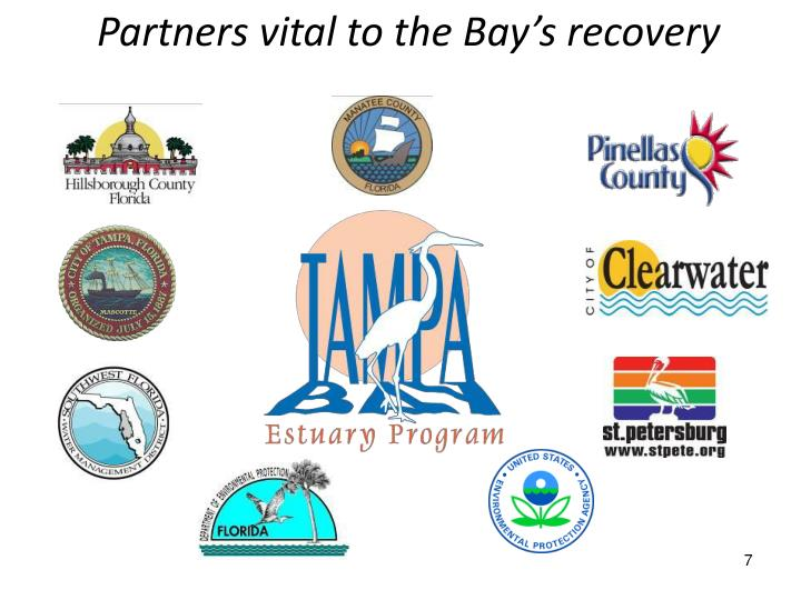 Partners vital to the Bay's recovery