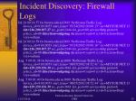 incident discovery firewall logs2