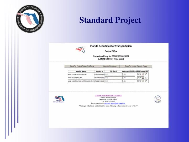 Standard Project