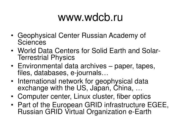 www.wdcb.ru