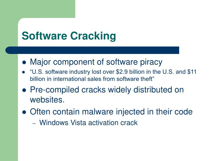 Software Cracking