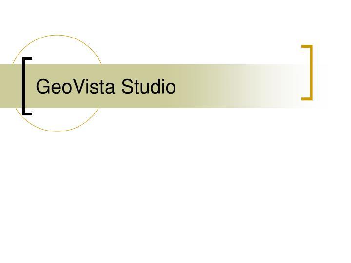 GeoVista Studio