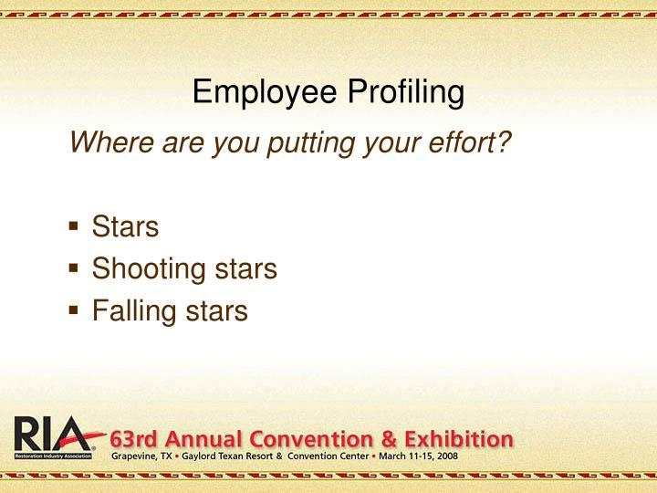 Employee Profiling