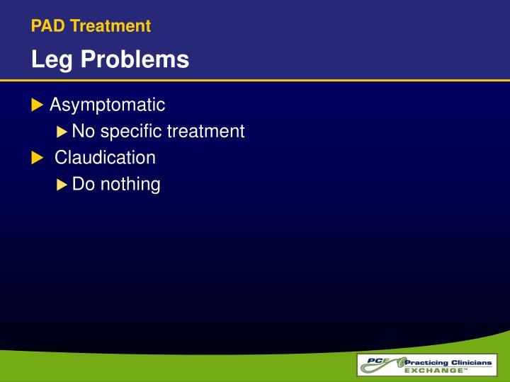 PAD Treatment