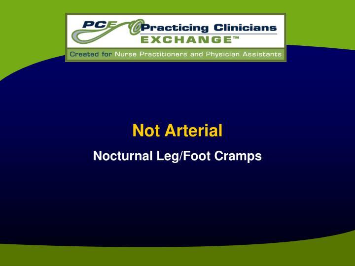 Not Arterial
