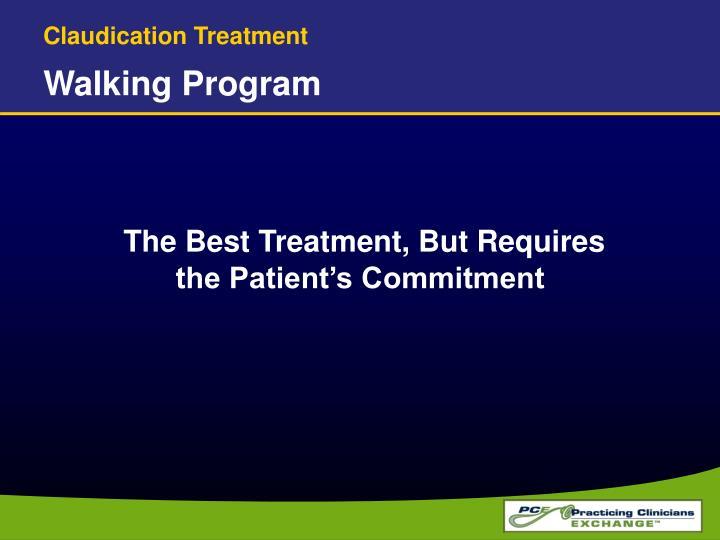 Claudication Treatment