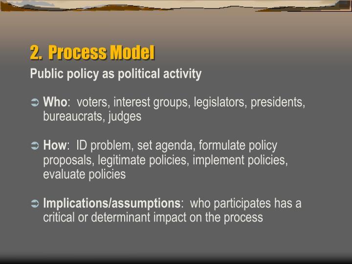 2.  Process Model