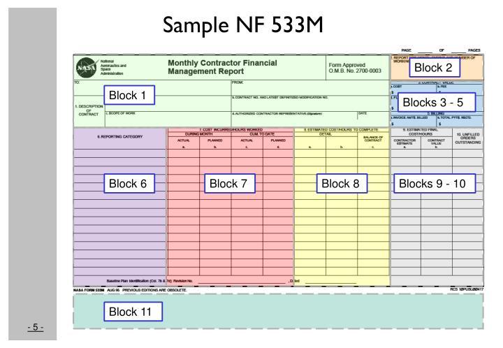 Sample NF 533M