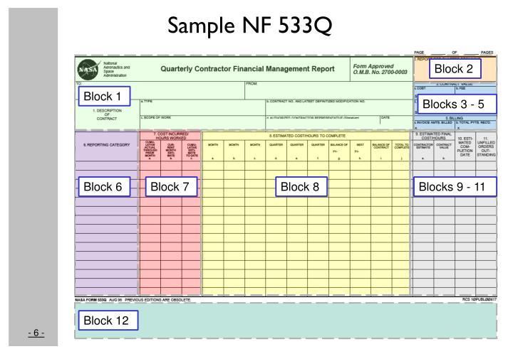 Sample NF 533Q