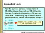equivalent units1