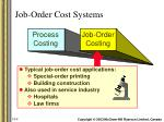 job order cost systems1