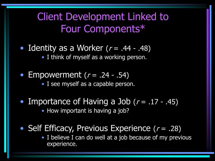 Client Development Linked to