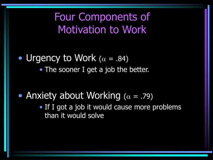 Four Components of