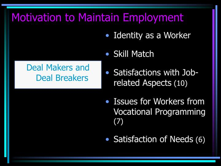 Identity as a Worker